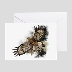Falcon Flight Greeting Card