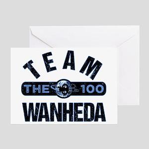 Team Wanheda The 100 Greeting Cards