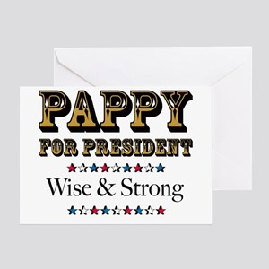 PAPPY for PRESIDENT Greeting Card