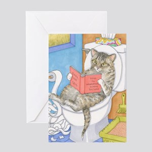 Cat 535 Greeting Card