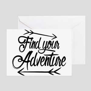 Find Adventure Greeting Card