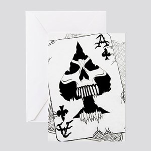 Ace of Spaces Greeting Card