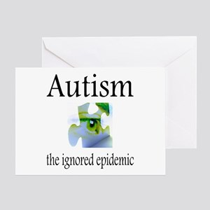 Autism, The Ignored Epidemic Greeting Card