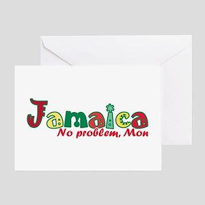 Jamaica No Problem Greeting Card