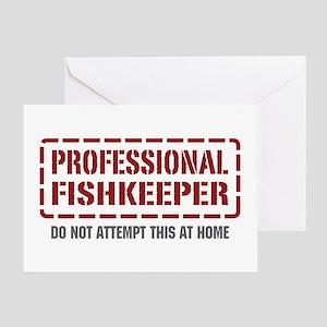 Professional Fishkeeper Greeting Card