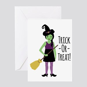 Trick - Or - Treat! Greeting Cards