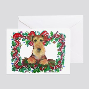 Airedale or Welsh Terrier Holiday