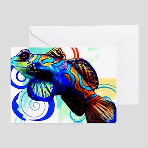 Mandarin Dragonet Greeting Card