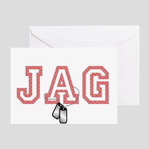 jag Greeting Card