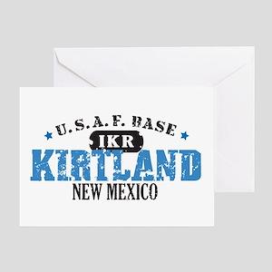 Kirtland Air Force Base Greeting Card