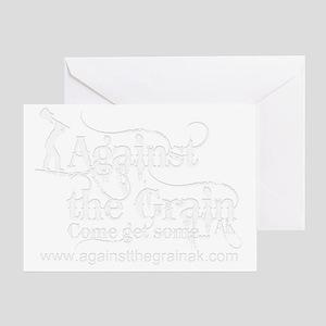 newt-shirt-wht Greeting Card
