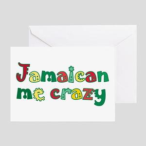 Jamaican Me Crazy Greeting Card
