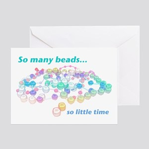 So Many Beads Greeting Card