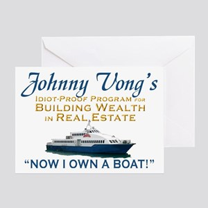 Castle Johnny Vong Greeting Card