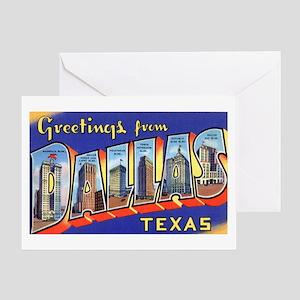 Dallas Texas Greetings Greeting Card