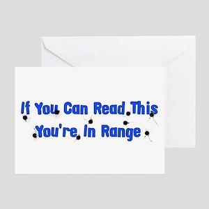 In Range Greeting Card