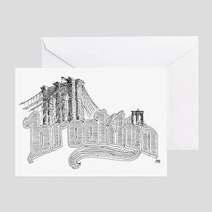 6-brooklyn Greeting Card