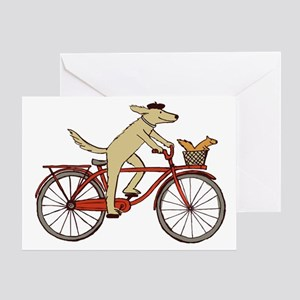 dogsquirreltee Greeting Card