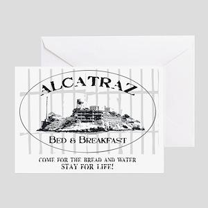 ALCATRAZ BB Greeting Card