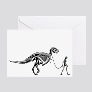 Dinosaur Walk Greeting Card