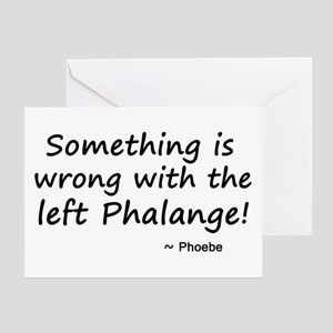 'The Left Phalange!' Greeting Card
