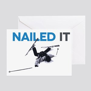 Nailed It Greeting Card