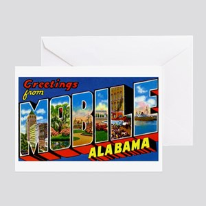 Mobile Alabama Greetings Greeting Card