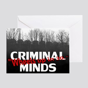 Criminal Minds Up In 30 Greeting Card