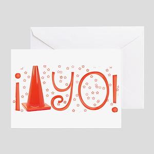 Cone-yo Greeting Card