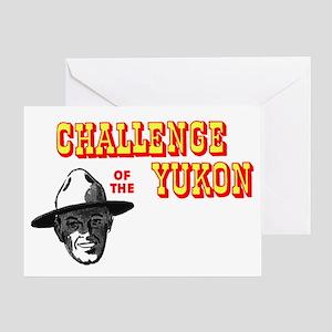 Challenge of the Yukon Greeting Card