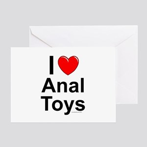 Anal Toys Greeting Card