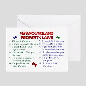 Newfoundland Property Laws 2 Greeting Card