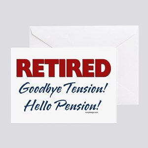 Retired: Goodbye Tension Hell Greeting Card