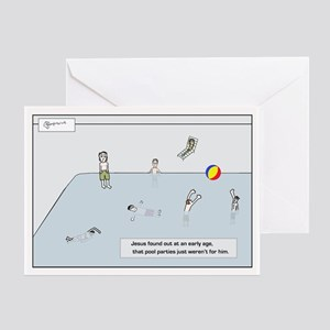 poolparty192_H_F Greeting Cards
