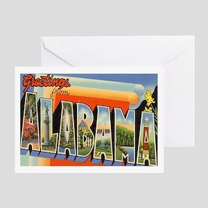 Alabama Postcard Greeting Card