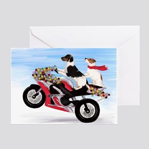 Jack Russell Terriers Greeting Card