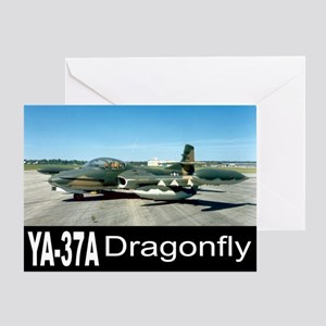 A-37 Dragonfly Greeting Card