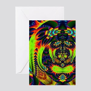 Psychedelic NeuLight n1 Greeting Cards
