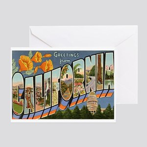 California CA Greeting Card
