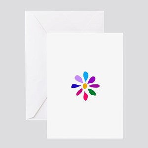Little Morning Flower 1 Greeting Card