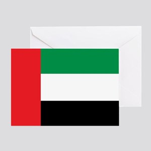 UAE Flag Greeting Card