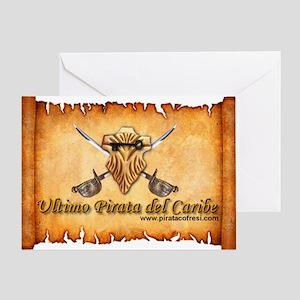 pergamino logo Greeting Card