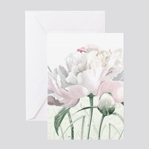 Beautiful Peony Greeting Cards