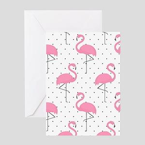 Cute Flamingo Greeting Cards