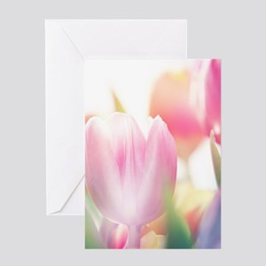 Beautiful Tulips Greeting Cards