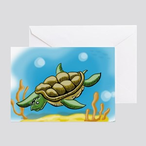 seaturtle Greeting Card