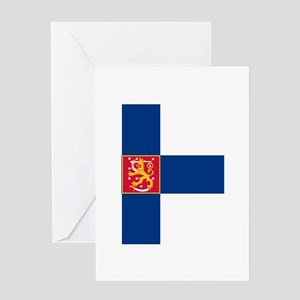 State Flag of Finland Greeting Card
