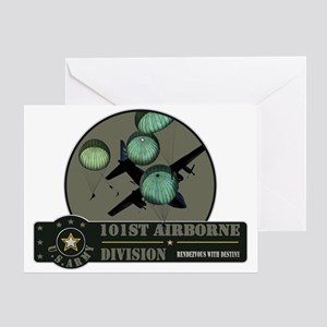 101st Airborne Greeting Card