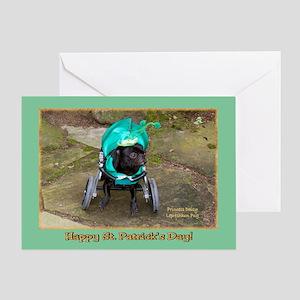 Princess Daisy Leprechaun Greeting Card