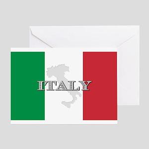 Italian Flag Extra Greeting Card